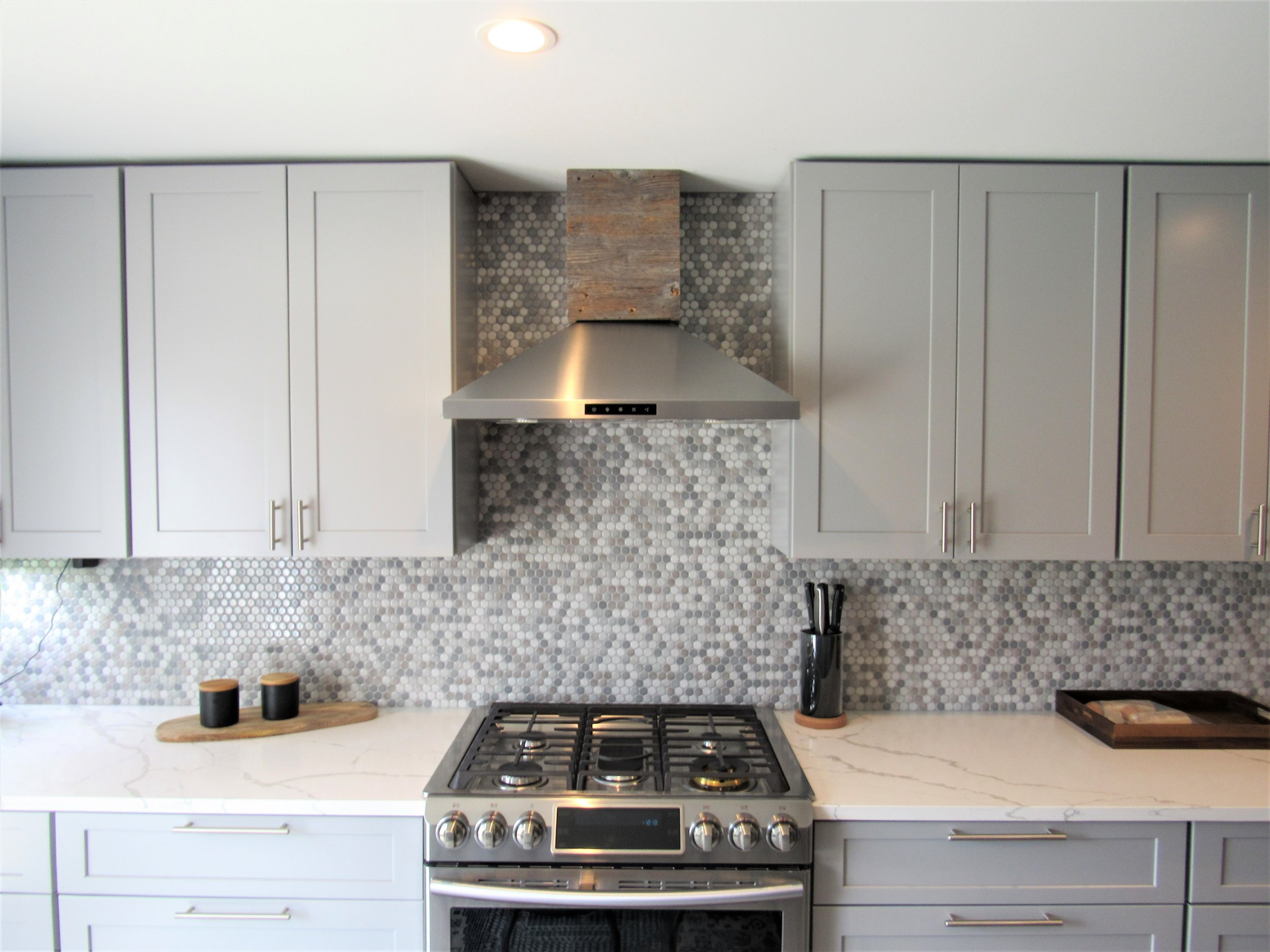 Grey Kitchen Cabinet Remodel