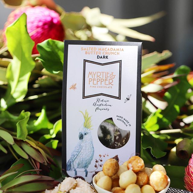Wander down to the Aroma Coffee &  Chocolate Festival this weekend and discover why the M&P Salted Macadamia Buttercrunch, Rocky Road Bites, chocolate bonbons, Lemon Myrtle bar, and Wattleseed & Hazelnut bar are all gold medal worthy 🥇We have samples of each and every one of our divine chocolates available for you to try 🤩  #maitlandaromafestival #awardwinningchocolate #australianchocolate #nativeaustralian #edibleluxury #australianartisan #australianmade #mymaitland #huntervalleynsw #myrtleandpepper