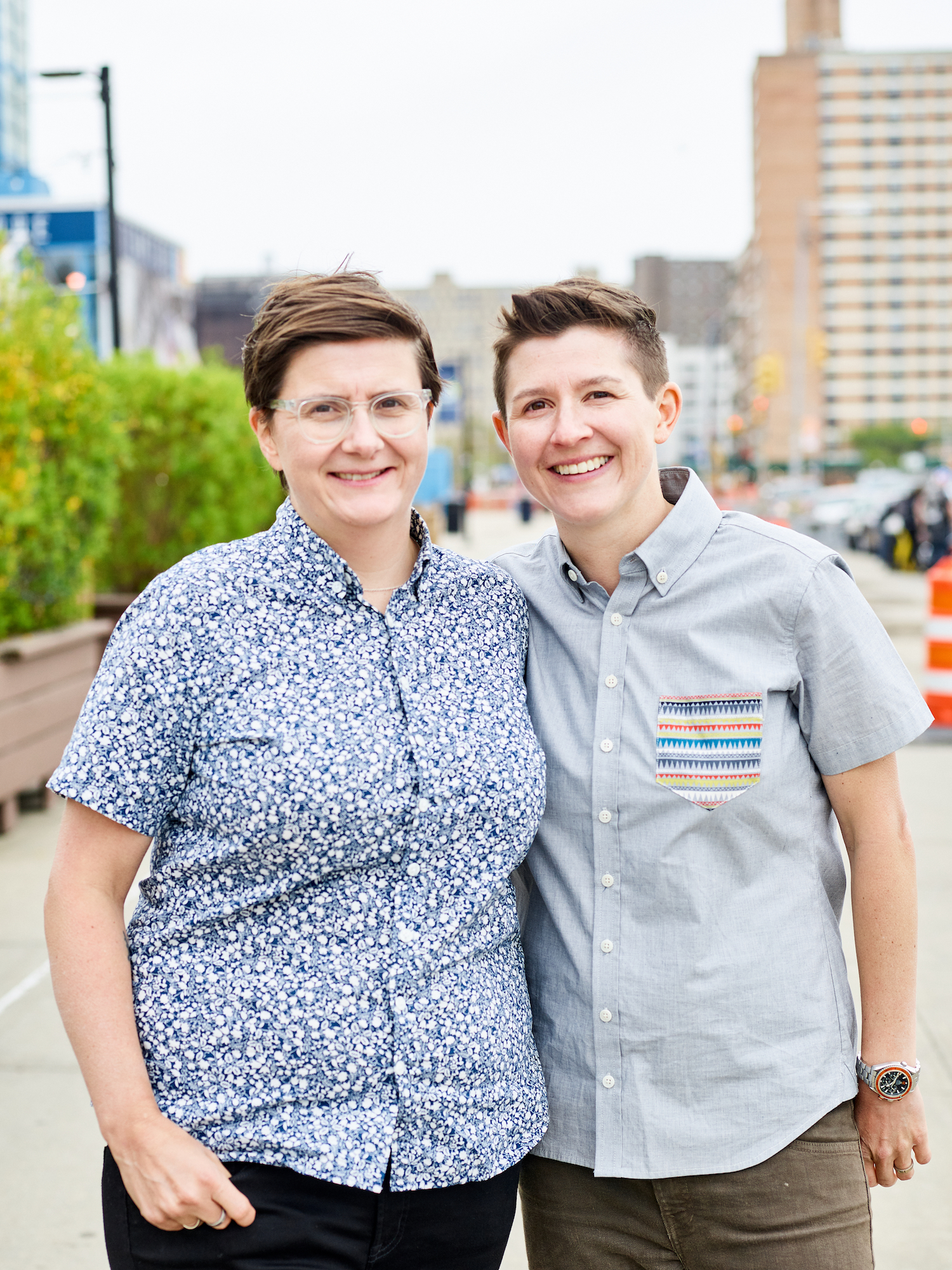 Founders Laura (left) and Kelly (right)