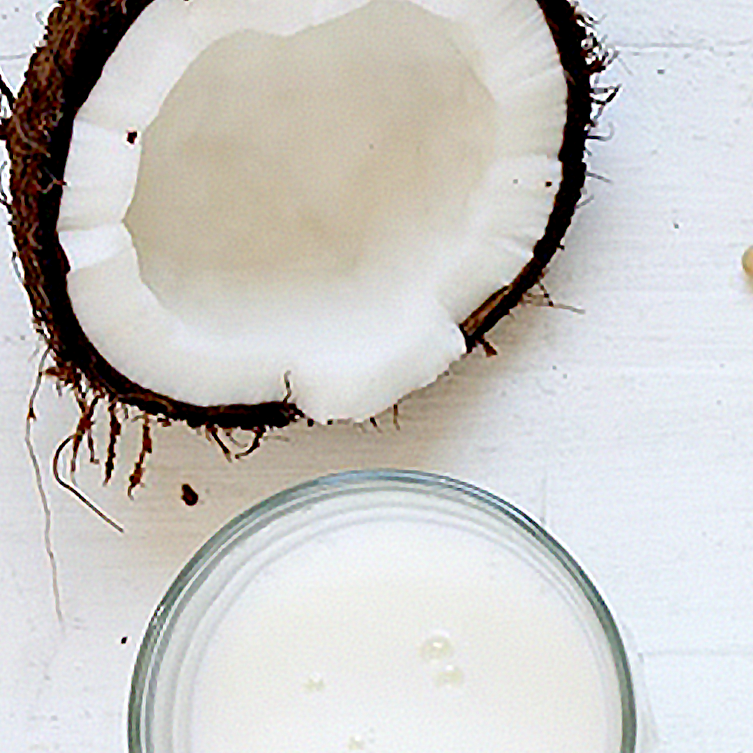 COCONUT MILK - It works well in cooking and baking.