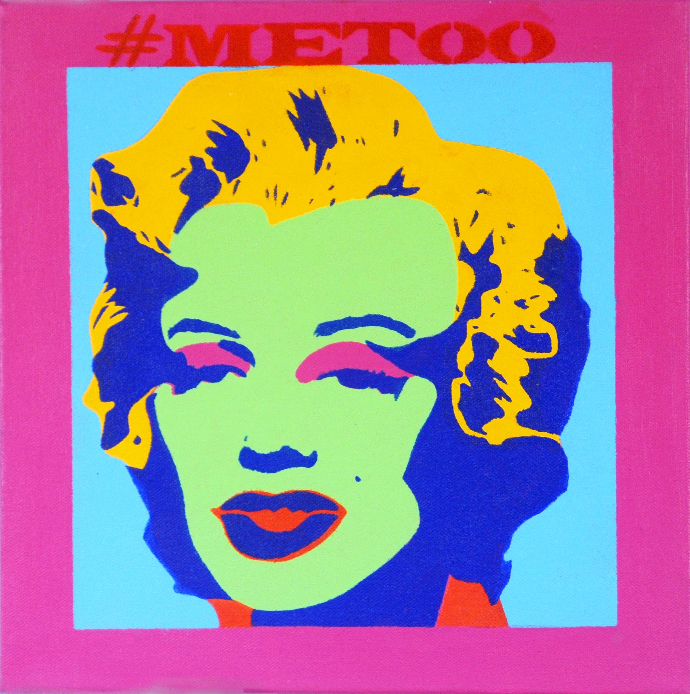 "#MeToo: Marilyn #2. 2018. 12""x12""."