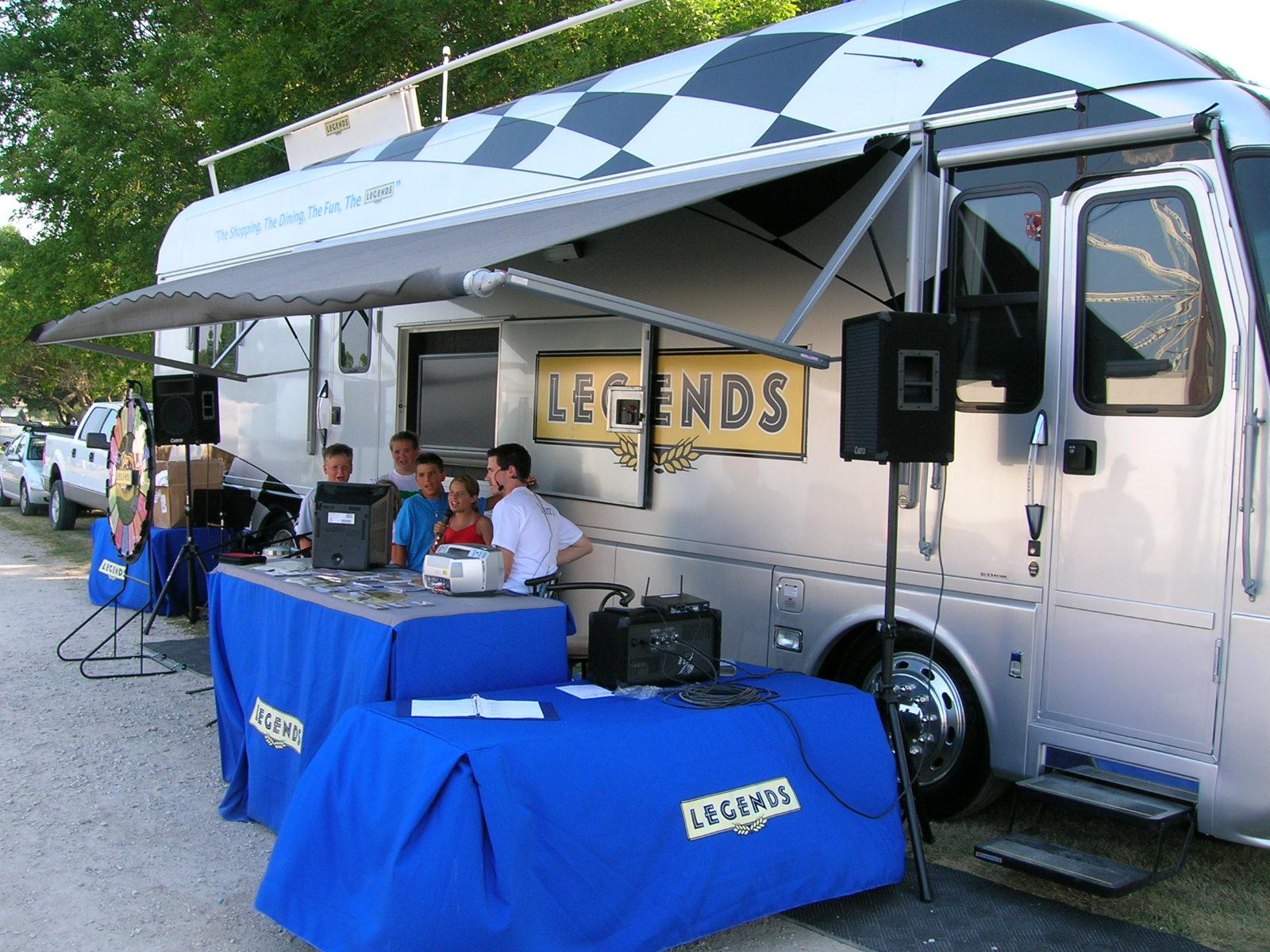 Legends Bus Tour -