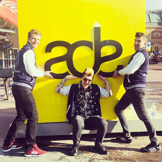 #flashbackfriday to chillin' with my boys at @amsterdamdanceevent! Cannot wait to go again this year🇳🇱🔥🤘