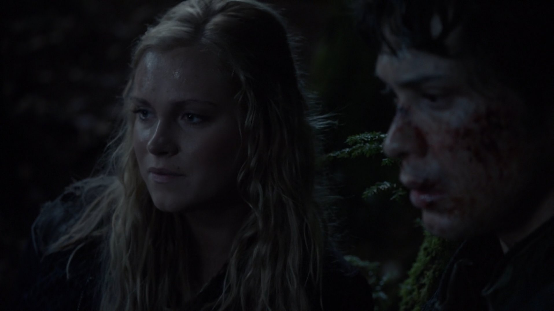 Clarke and Bellamy open up to each other