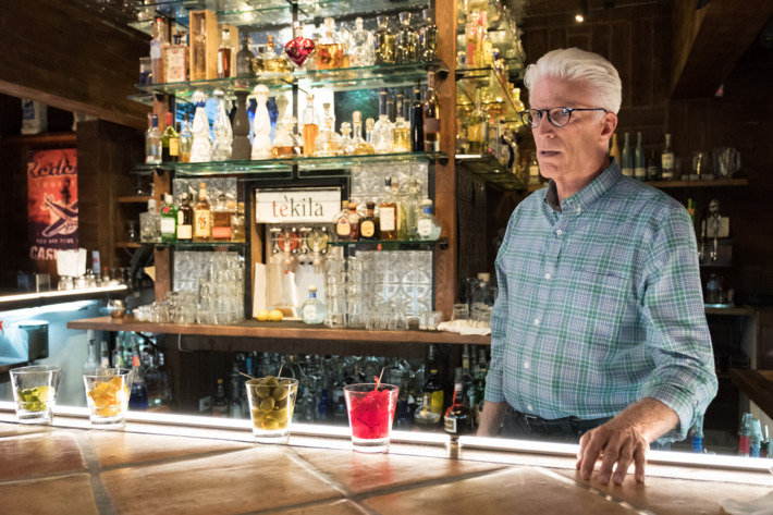 Michael as Eleanor's helpful bartender