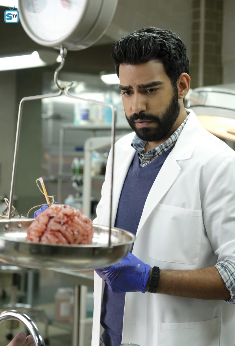 Hungry, Ravi? In the season 3 finale, Liv scratched Ravi, leaving viewers to wonder all hiatus if he would become a zombie