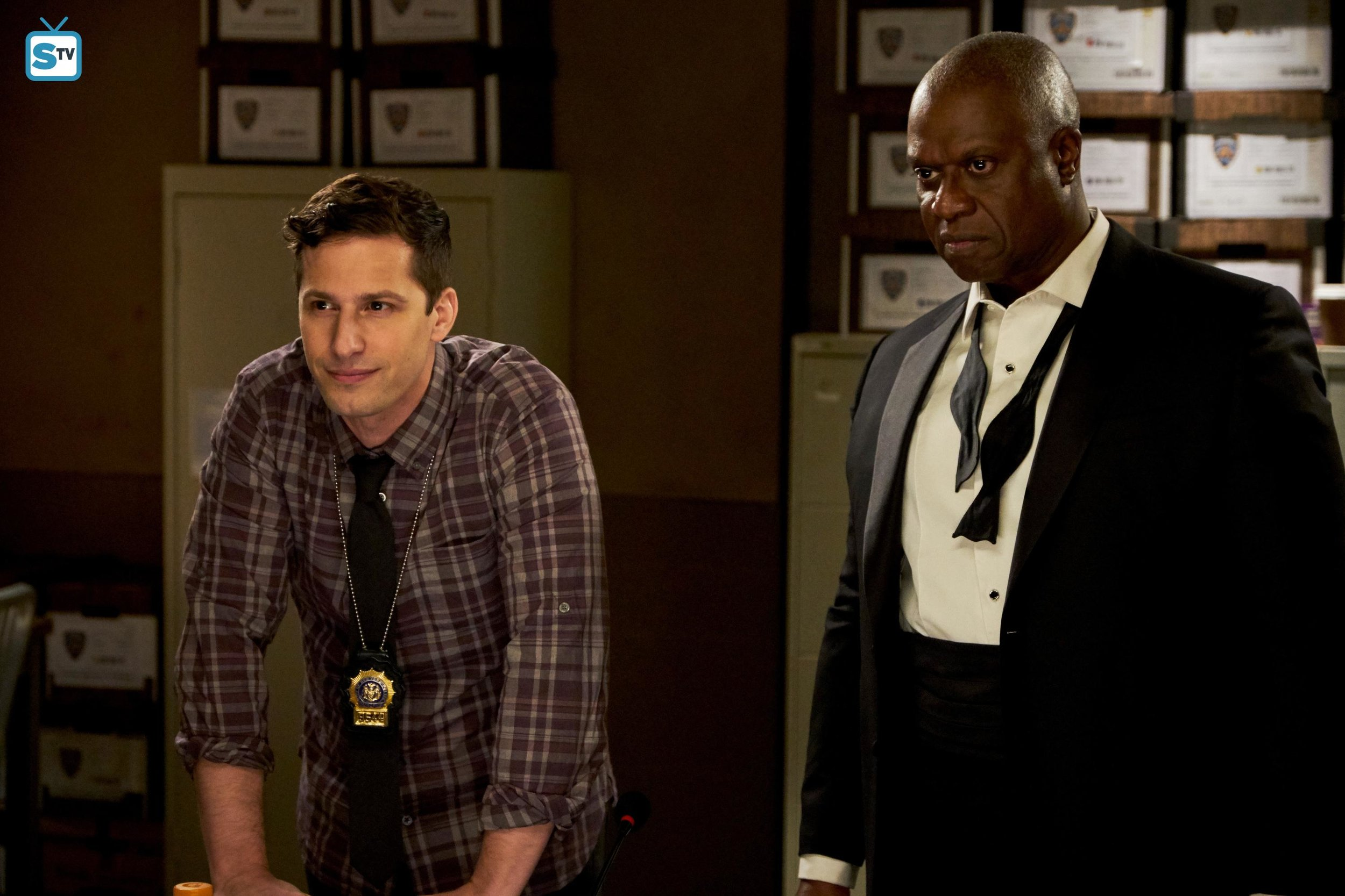 The relationship between Jake and Holt is at the heart of this episode