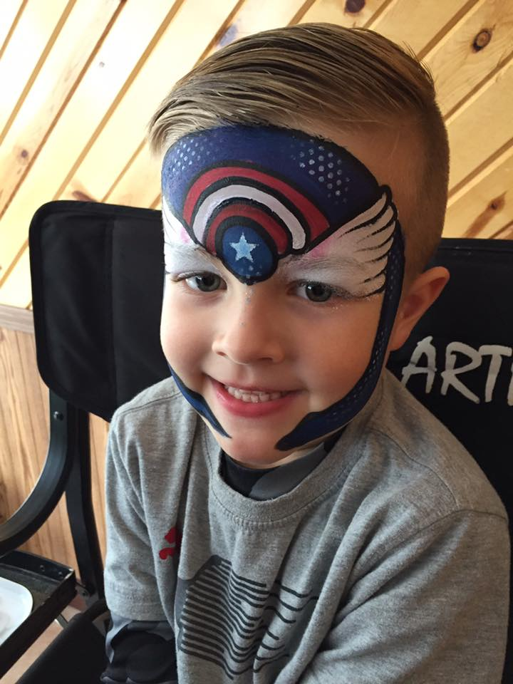 Avenger with Lifes a Party Facepainting.jpg