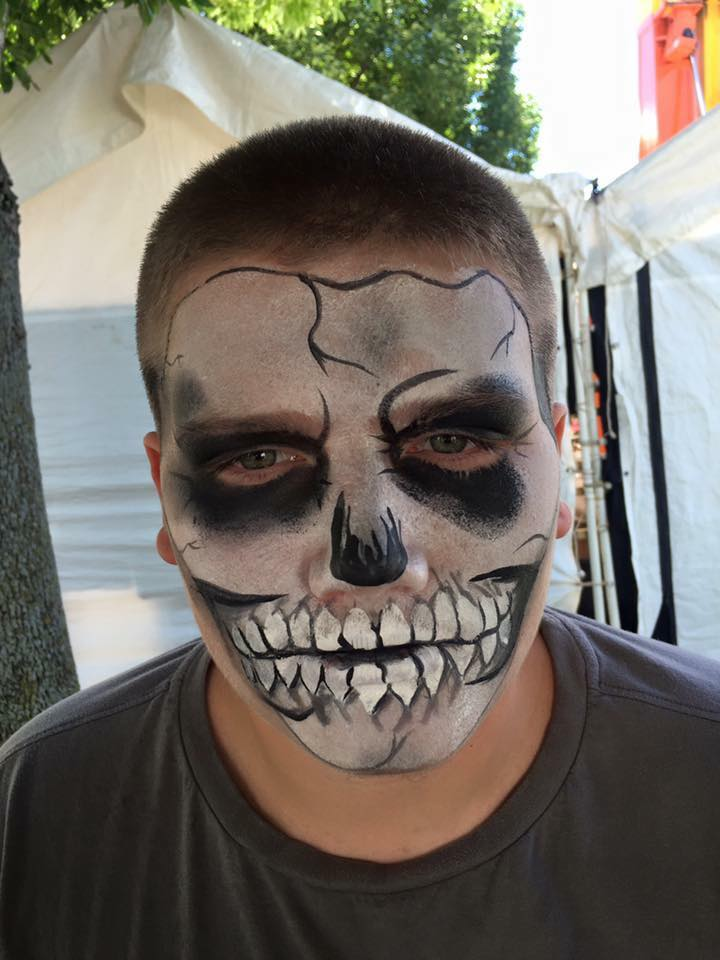 Skull with Lifes a Party Facepainting.jpg