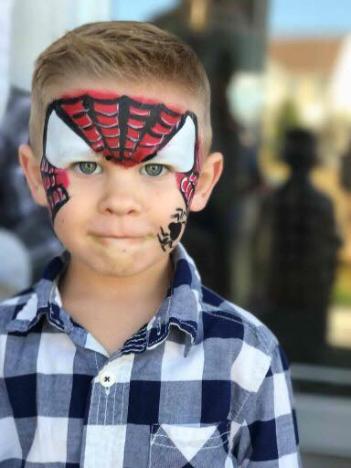 Spiderman Lifes a Party Facepainting.jpg