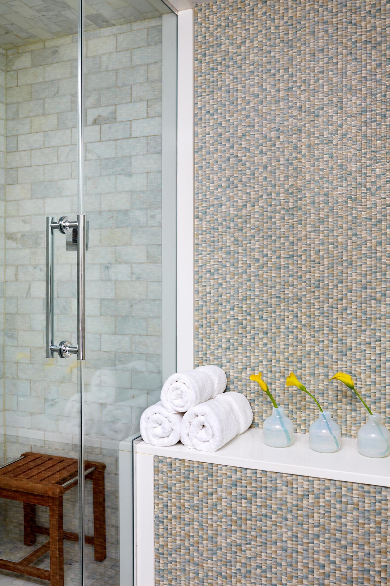 Boston bathroom interior design by Dane Austin Design