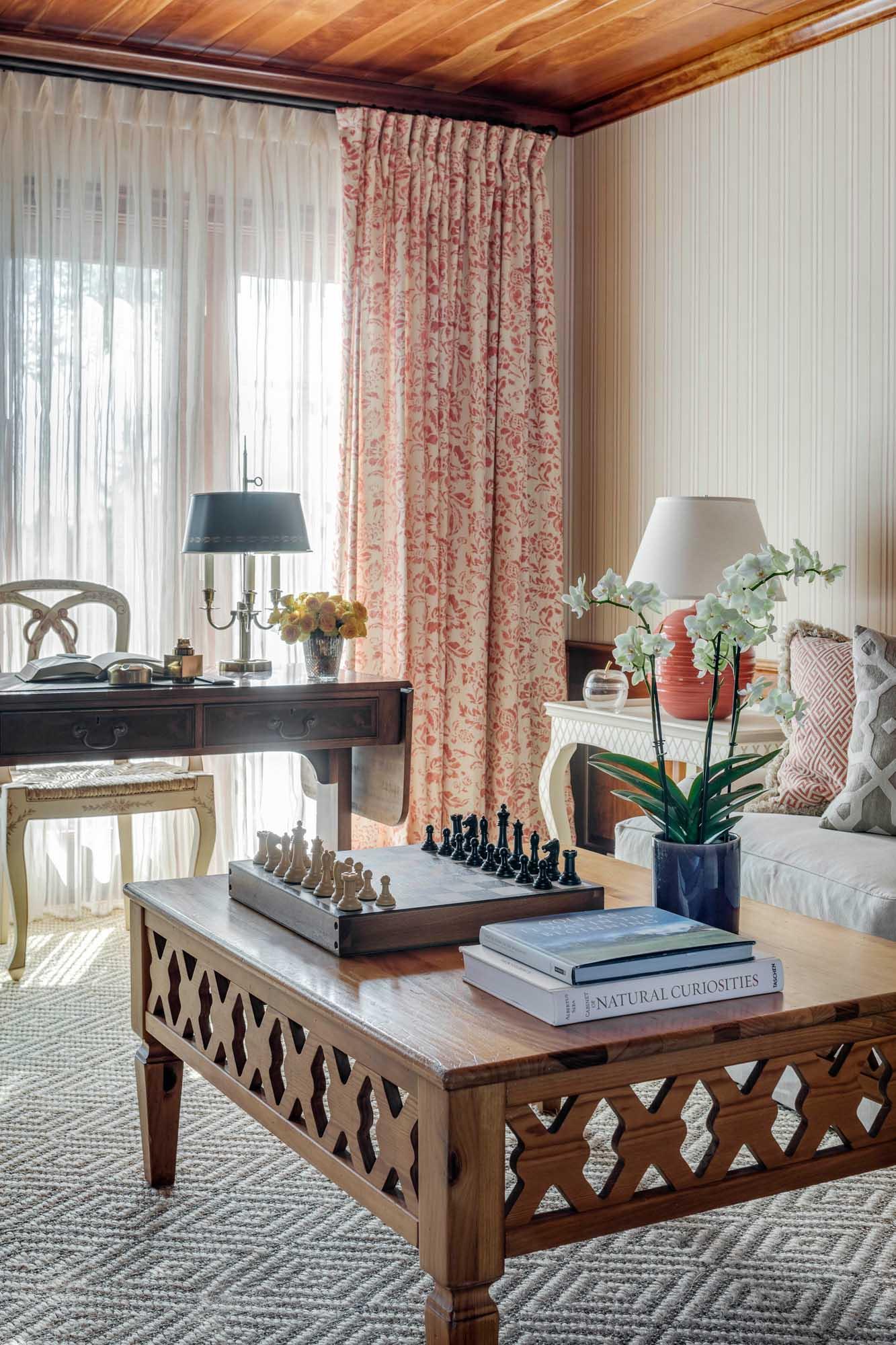 Boston home office interior design by Dane Austin Design