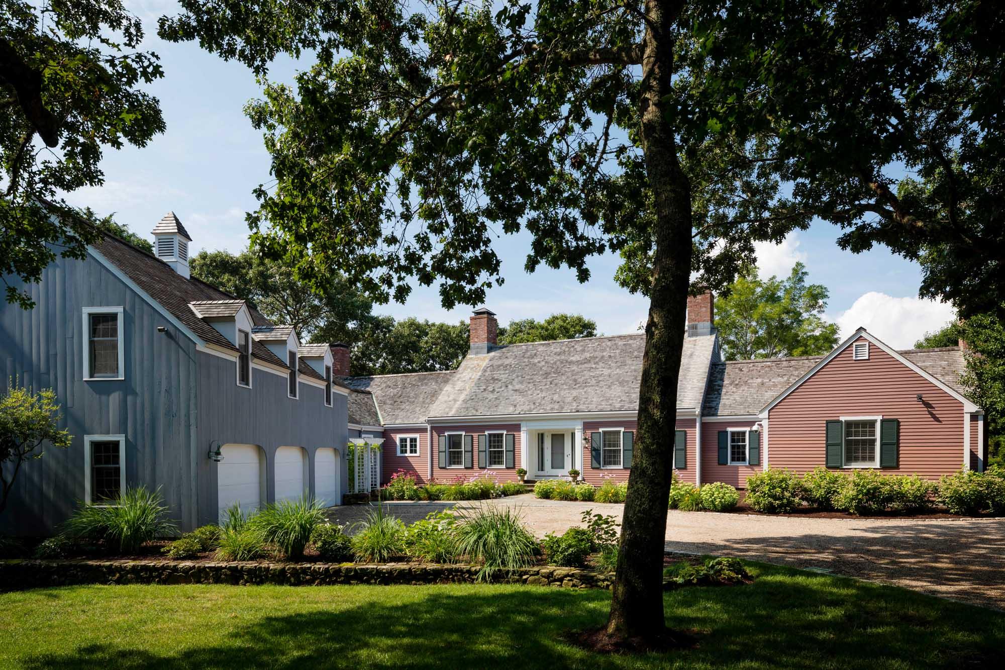 Boston ranch style house design by Dane Austin Design