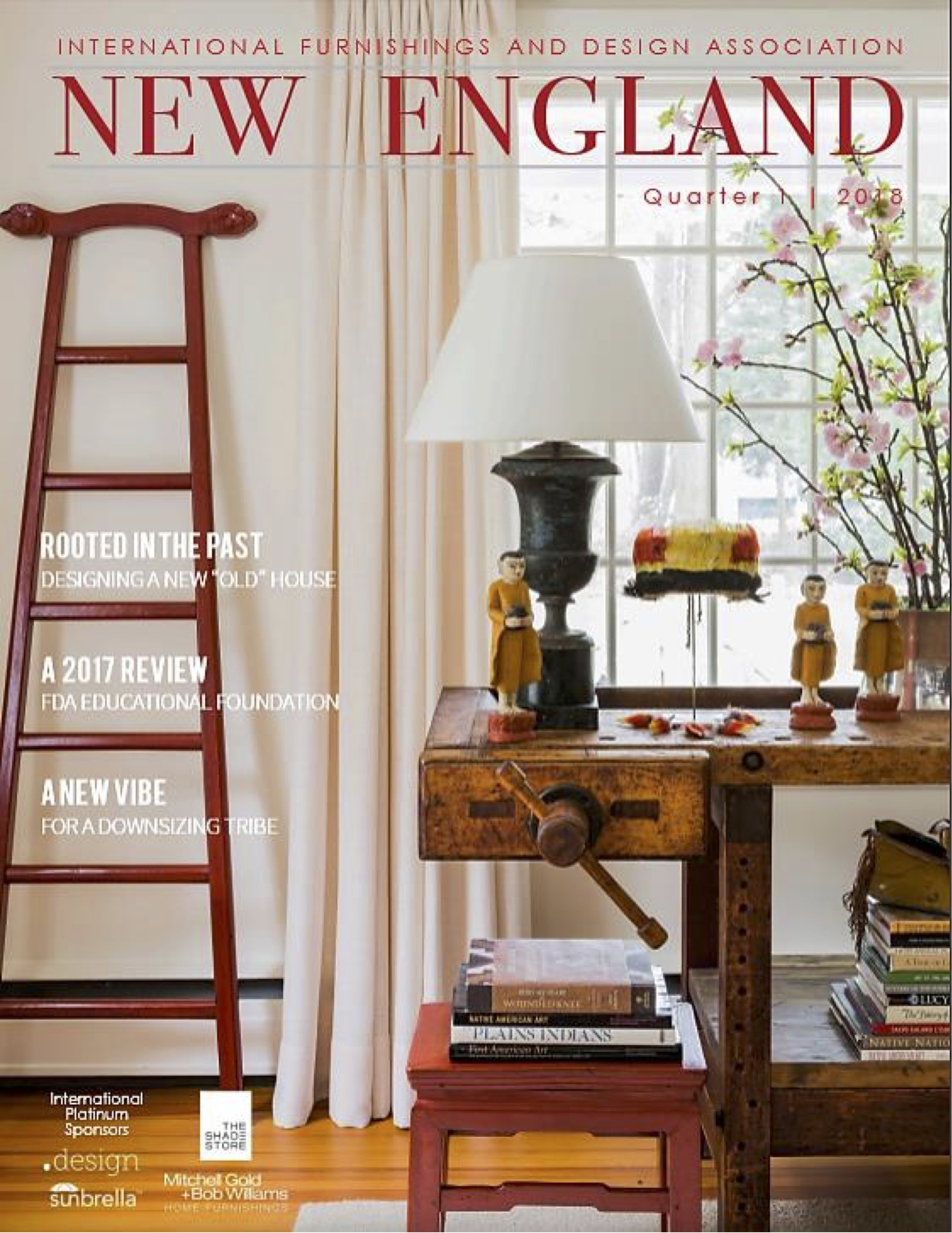IFDA Magazine - Interior design in Boston by Dane Austin Design