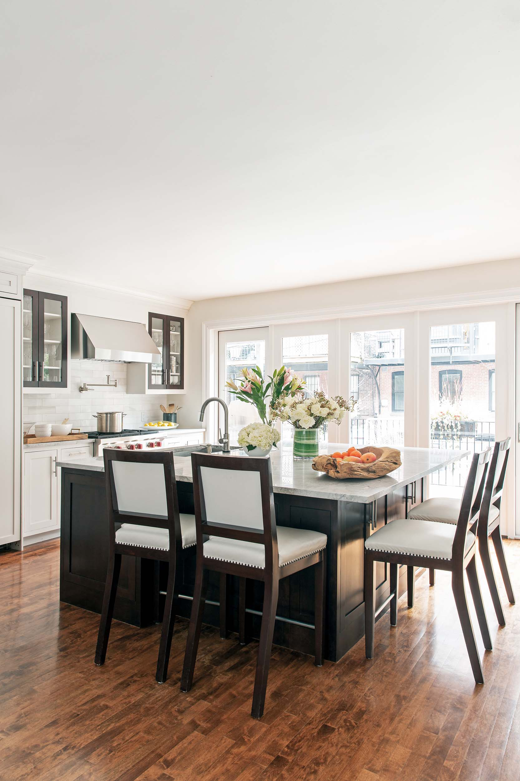 Boston kitchen interior design by Dane Austin Design
