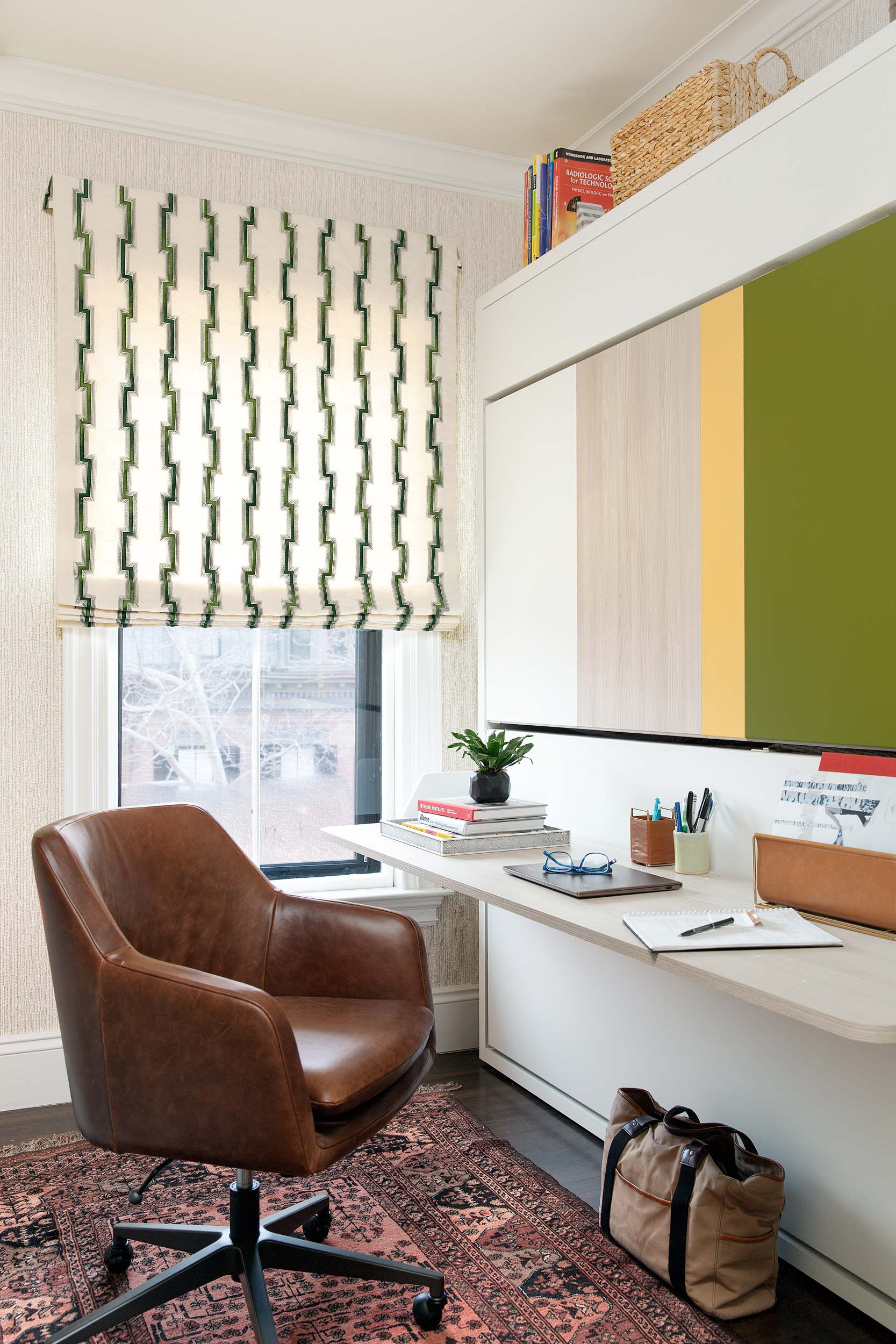 Boston home office interior design by Dane Austin Design