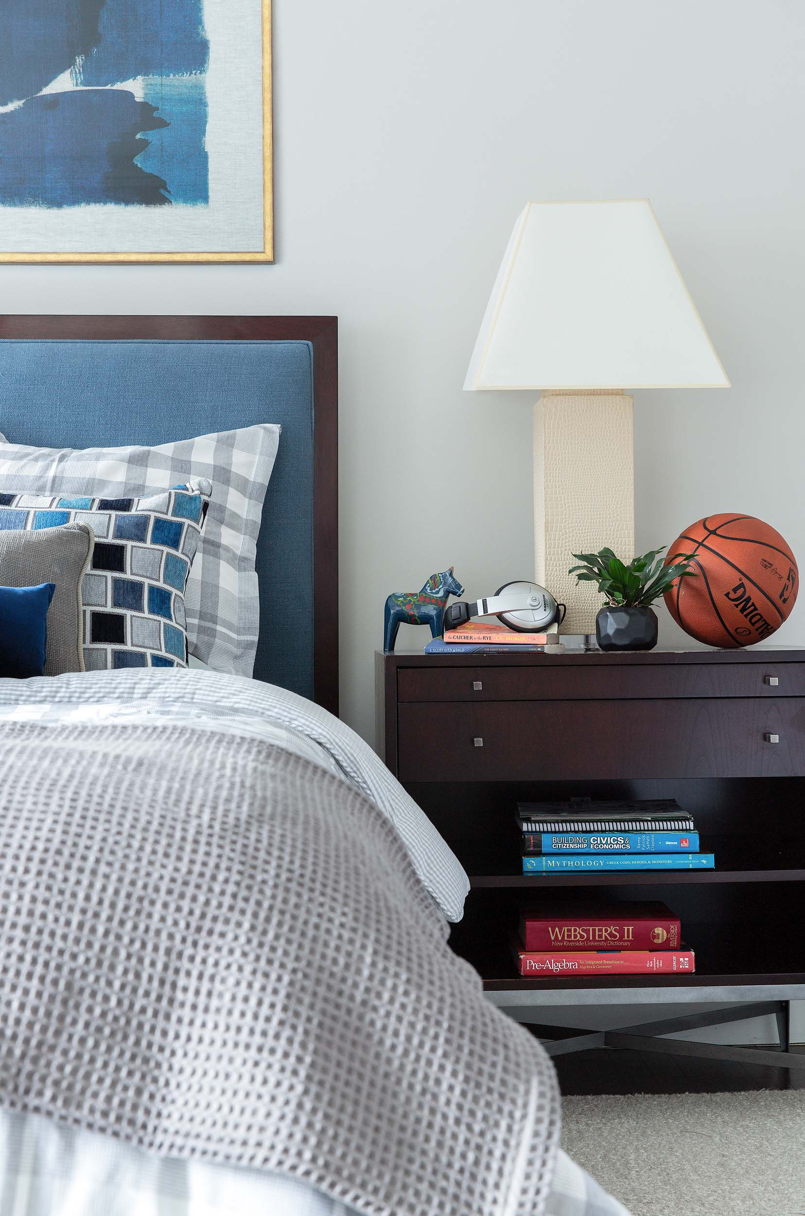 Boston guest bedroom interior design by Dane Austin Design