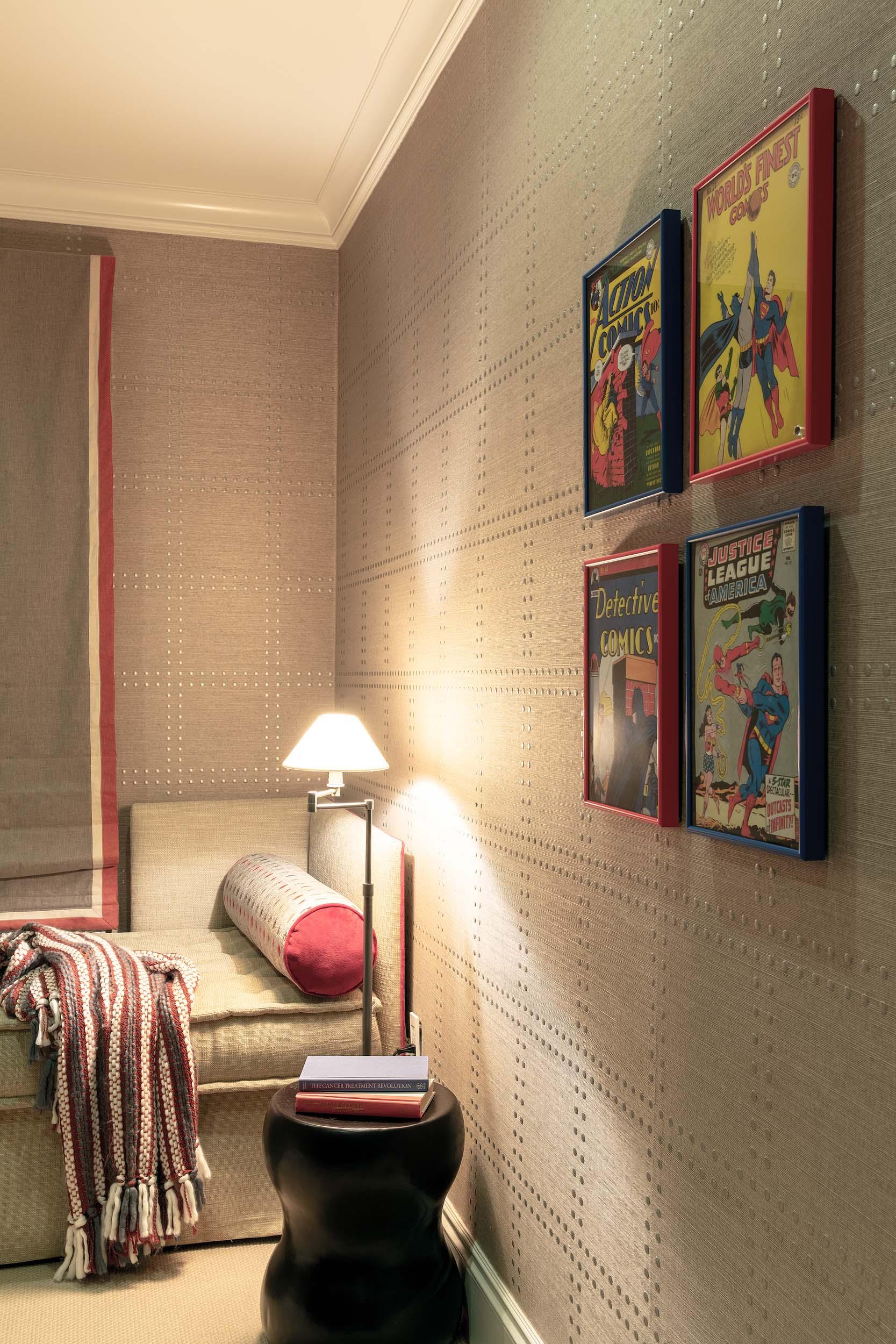Boston day bed interior design by Dane Austin Design