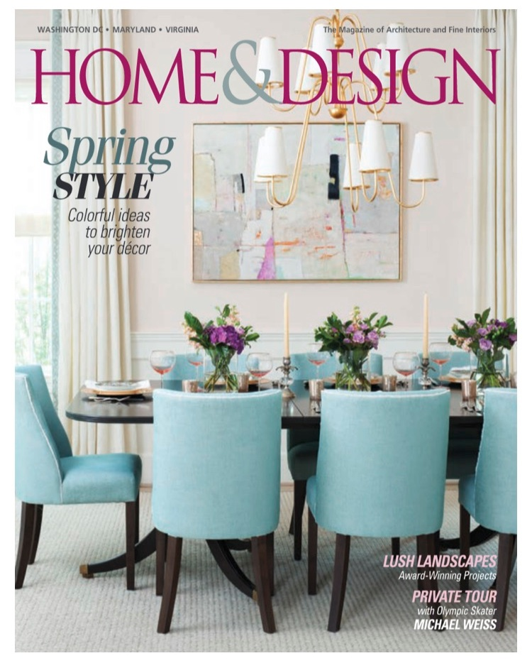 Home and Design Magazine/ March 2017 Cover page