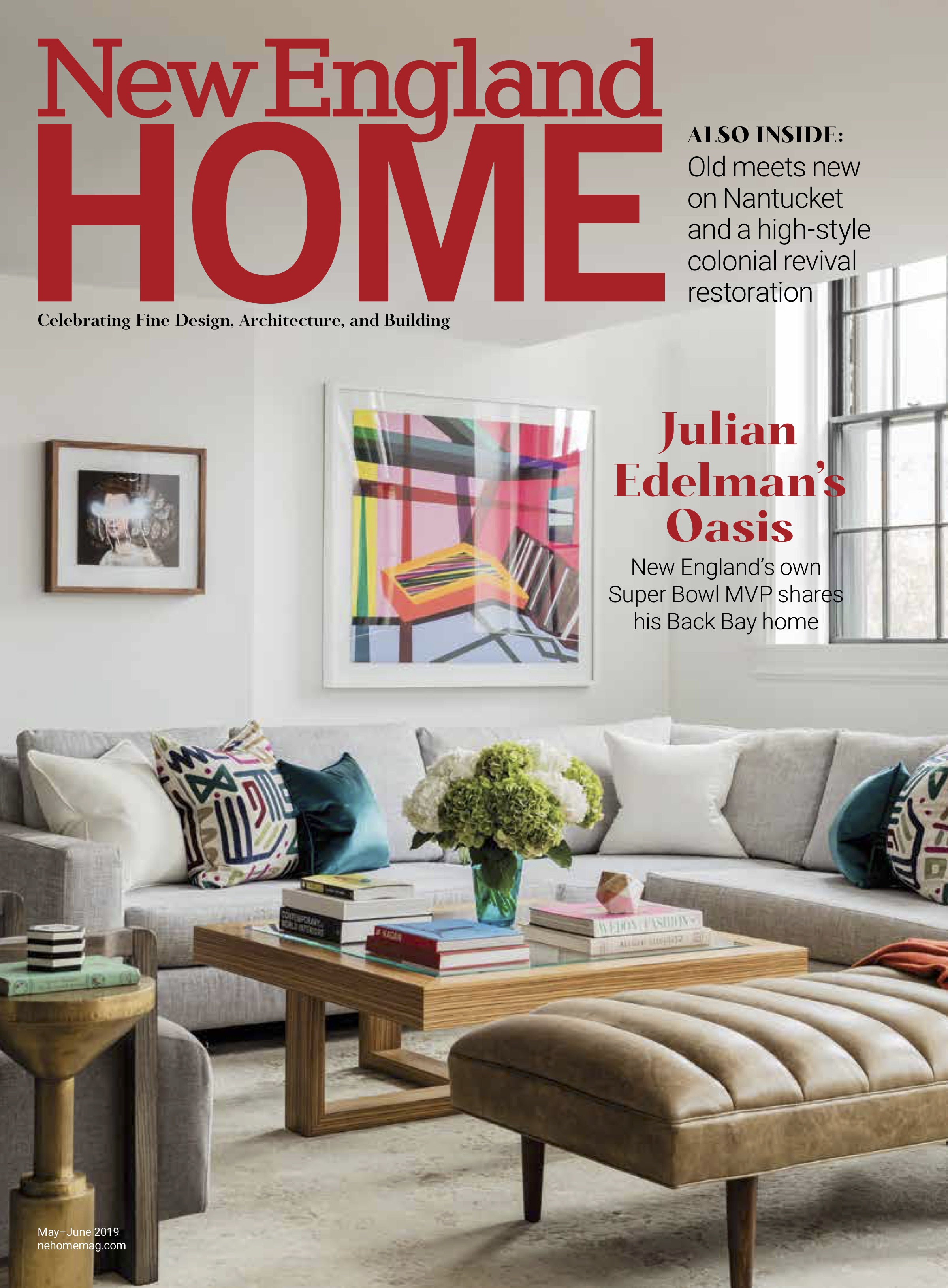 Dane Austin Design featured in New England Home May-June 2019 Page 1