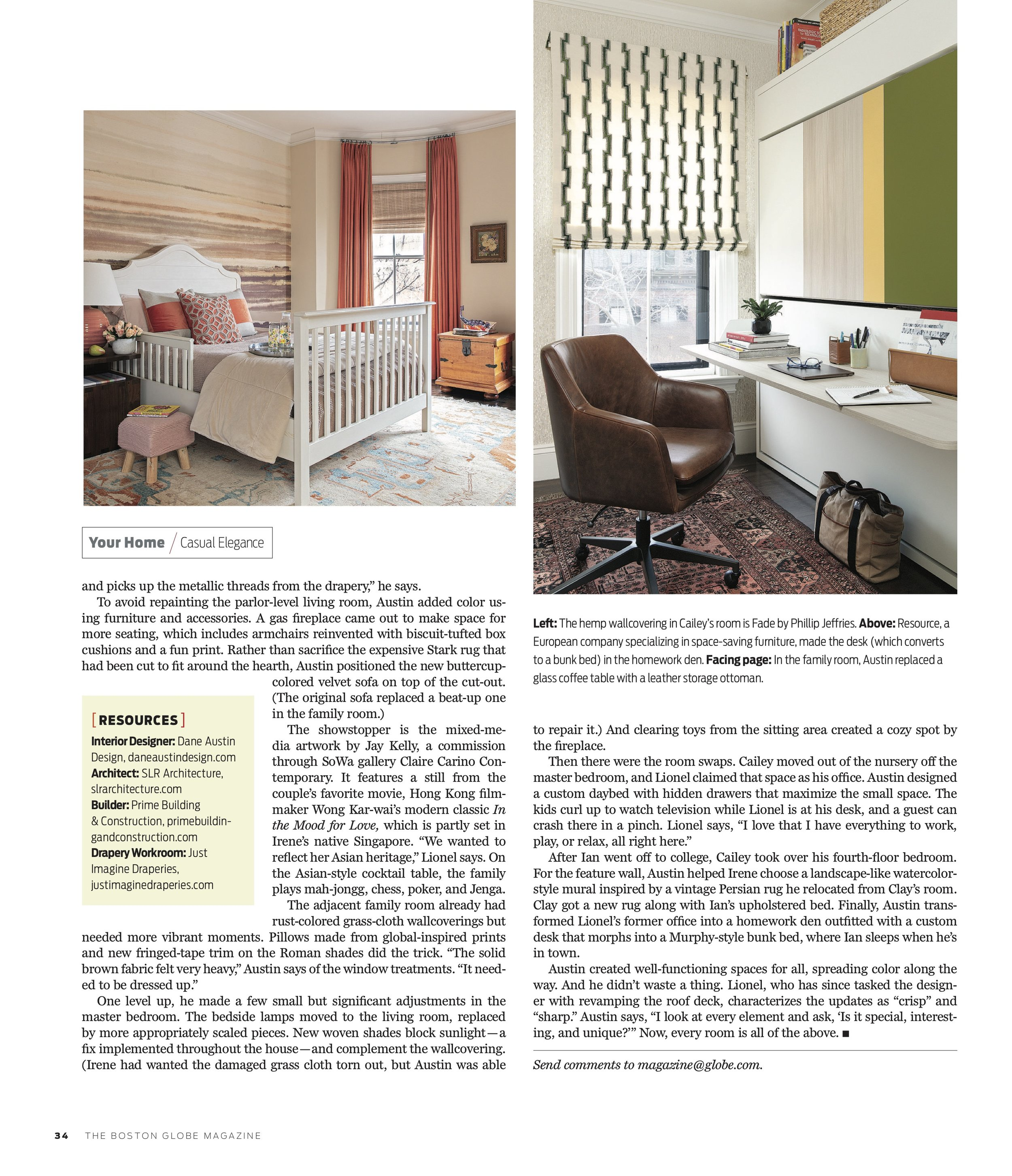 Dane Austin Design featured in Boston Globe Magazine March 2019 3