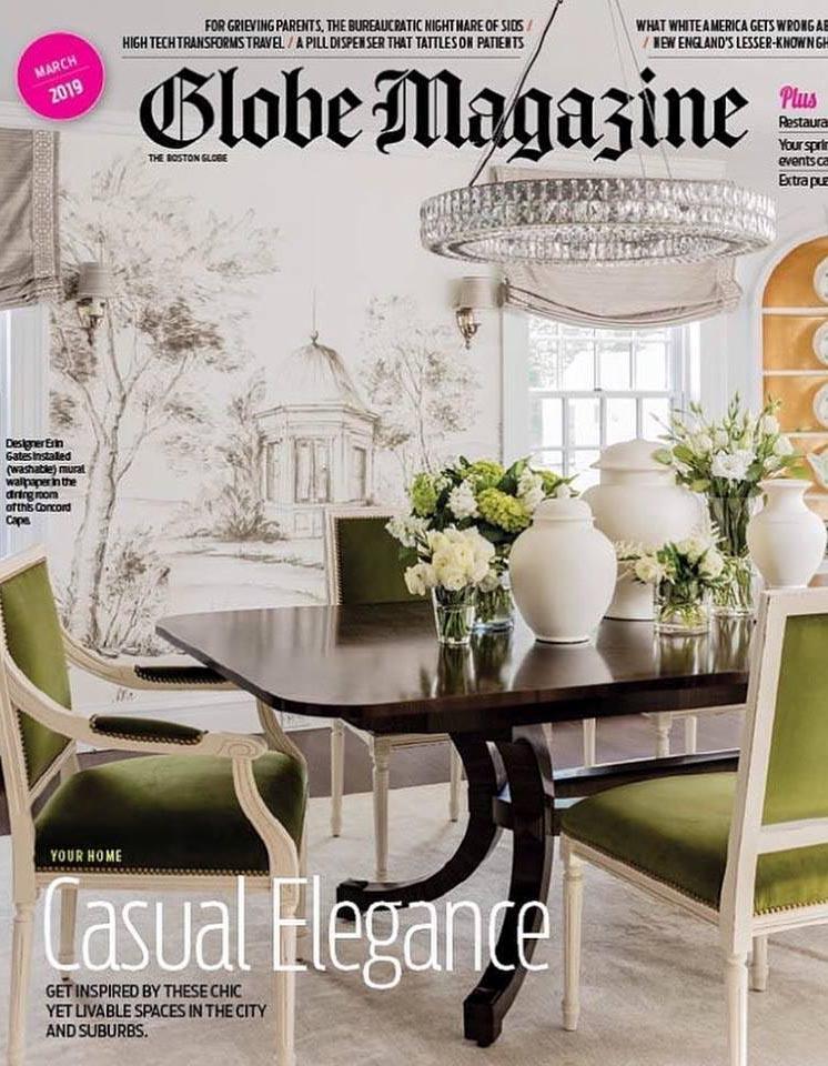Boston Globe Magazine - Interior design in Boston by Dane Austin Design