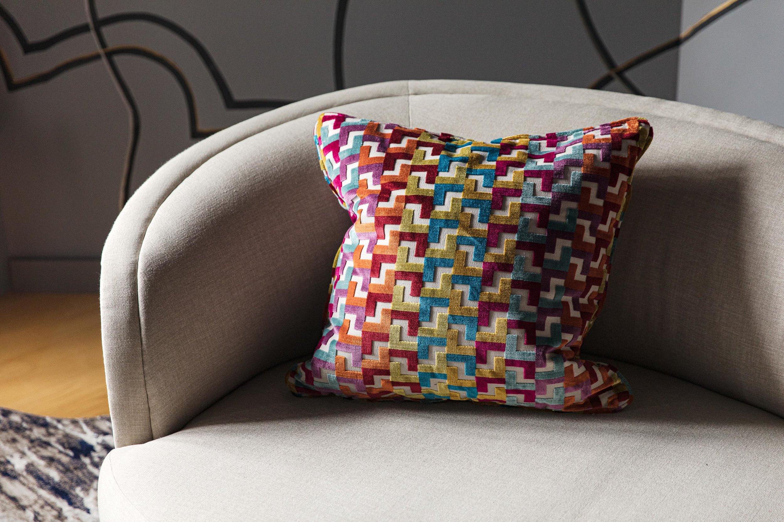 Boston curved sofa design by Dane Austin Design