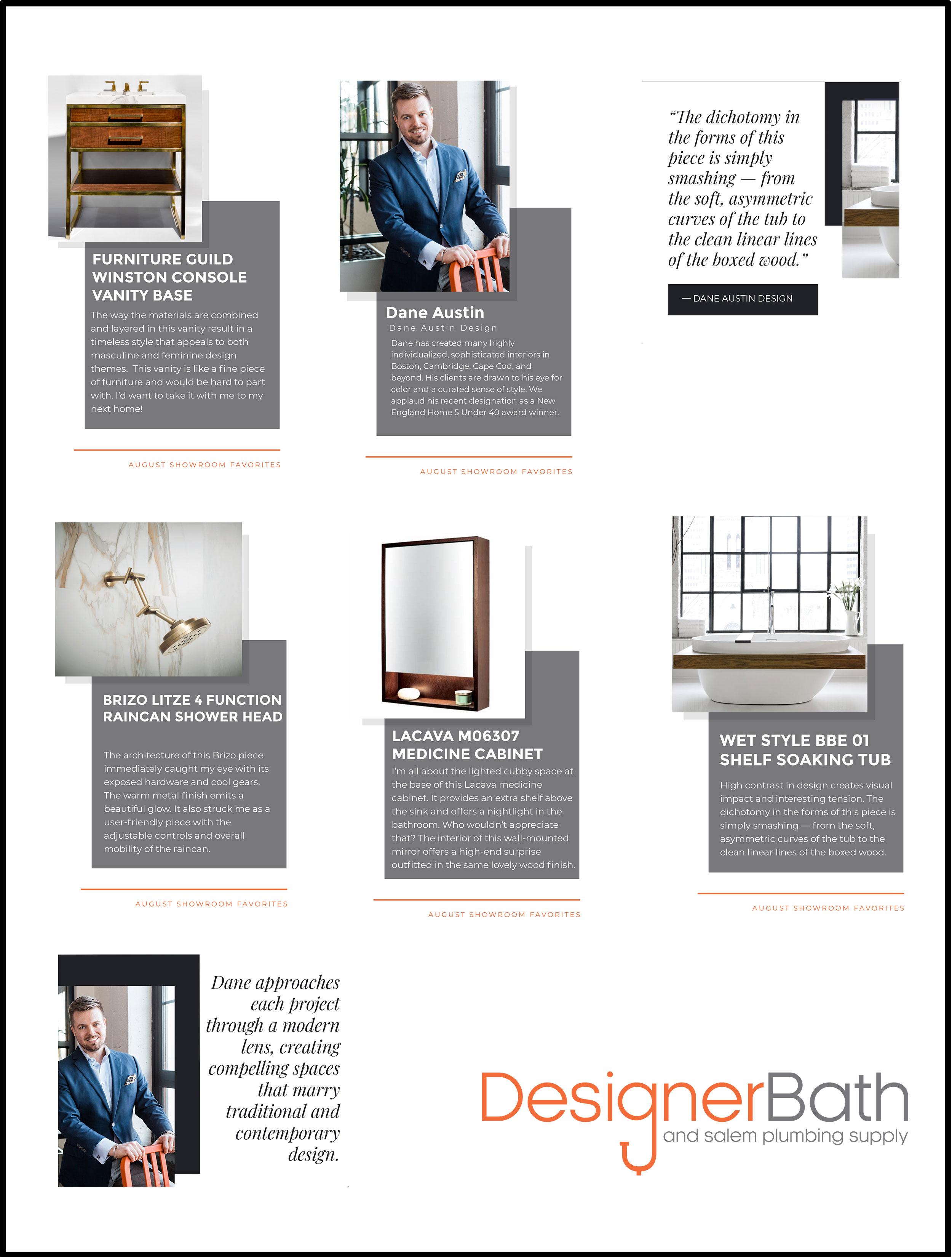 Designer Bath Instagram story