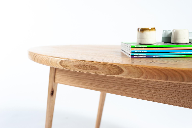 - Handmade Oval Coffee Table — Joseph David Furniture Design