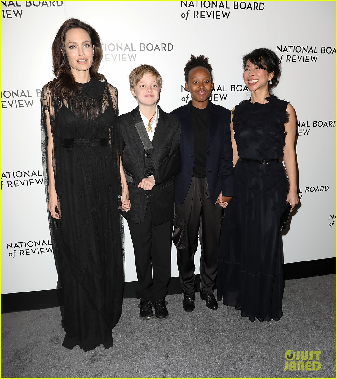 Angelina Jolie's publicist, or kid?