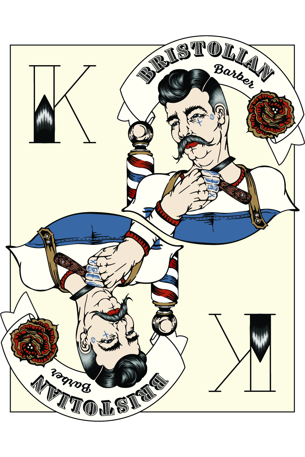 Bristolian Barber Card