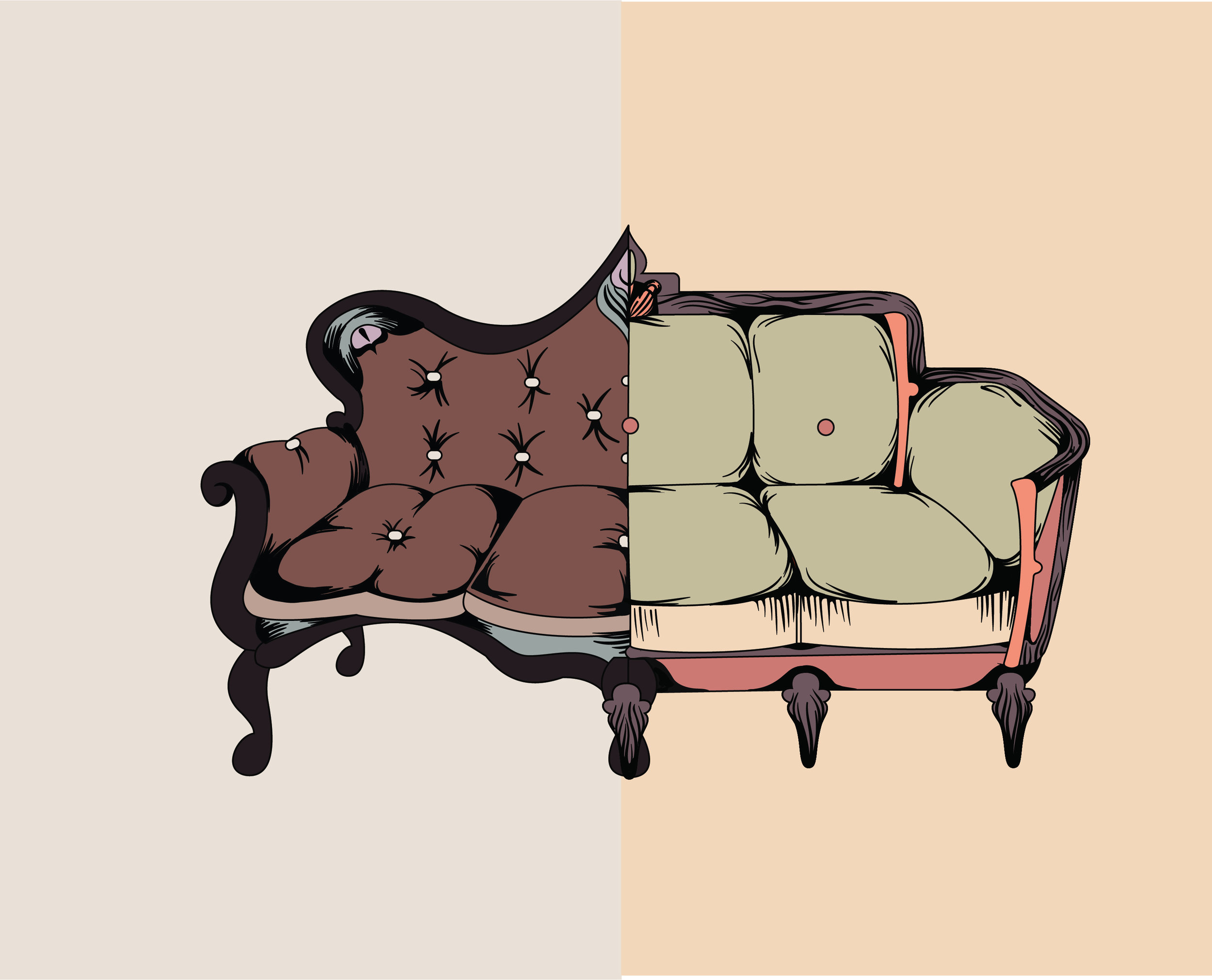 Split Couch