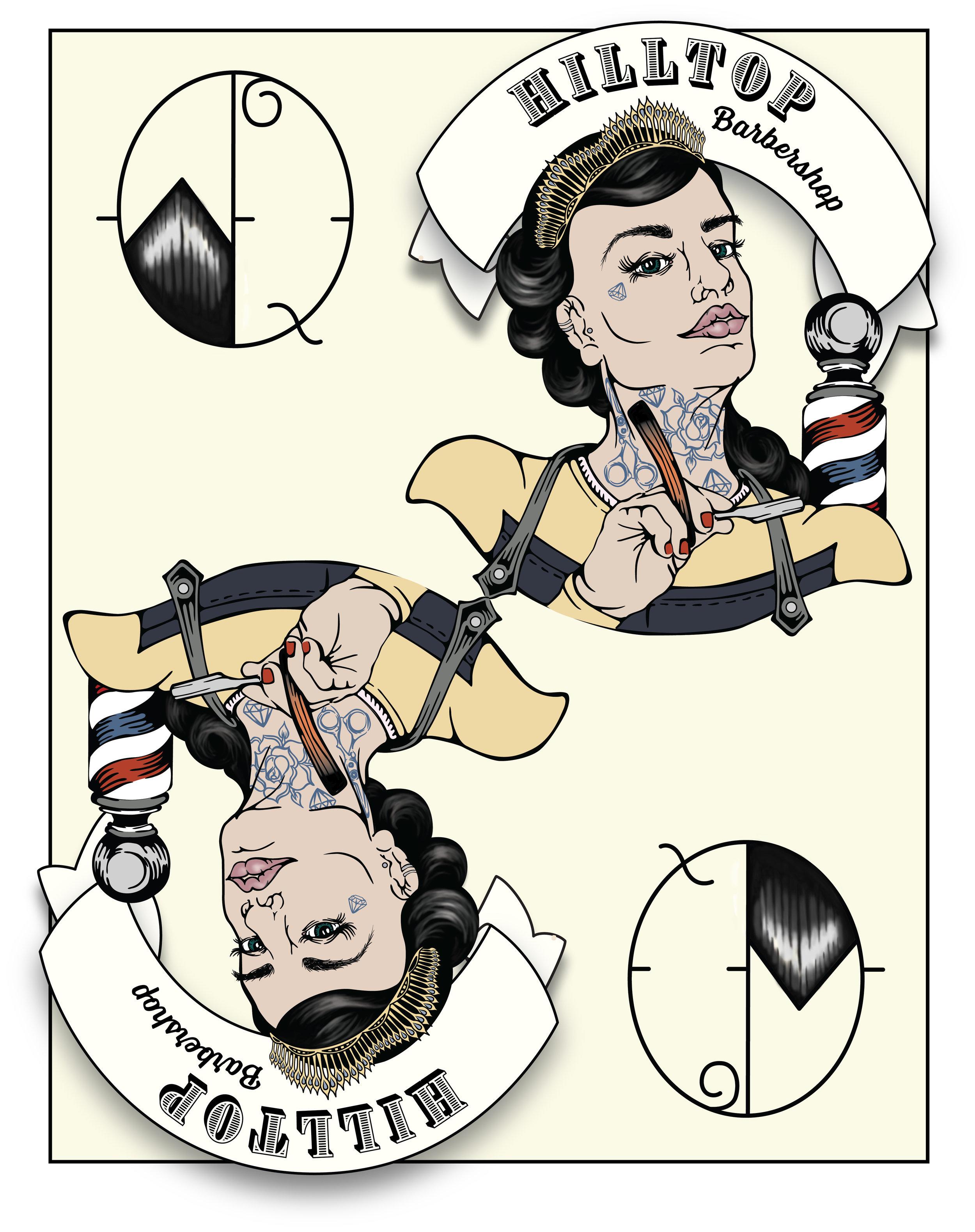 Hilltop Barber Queen