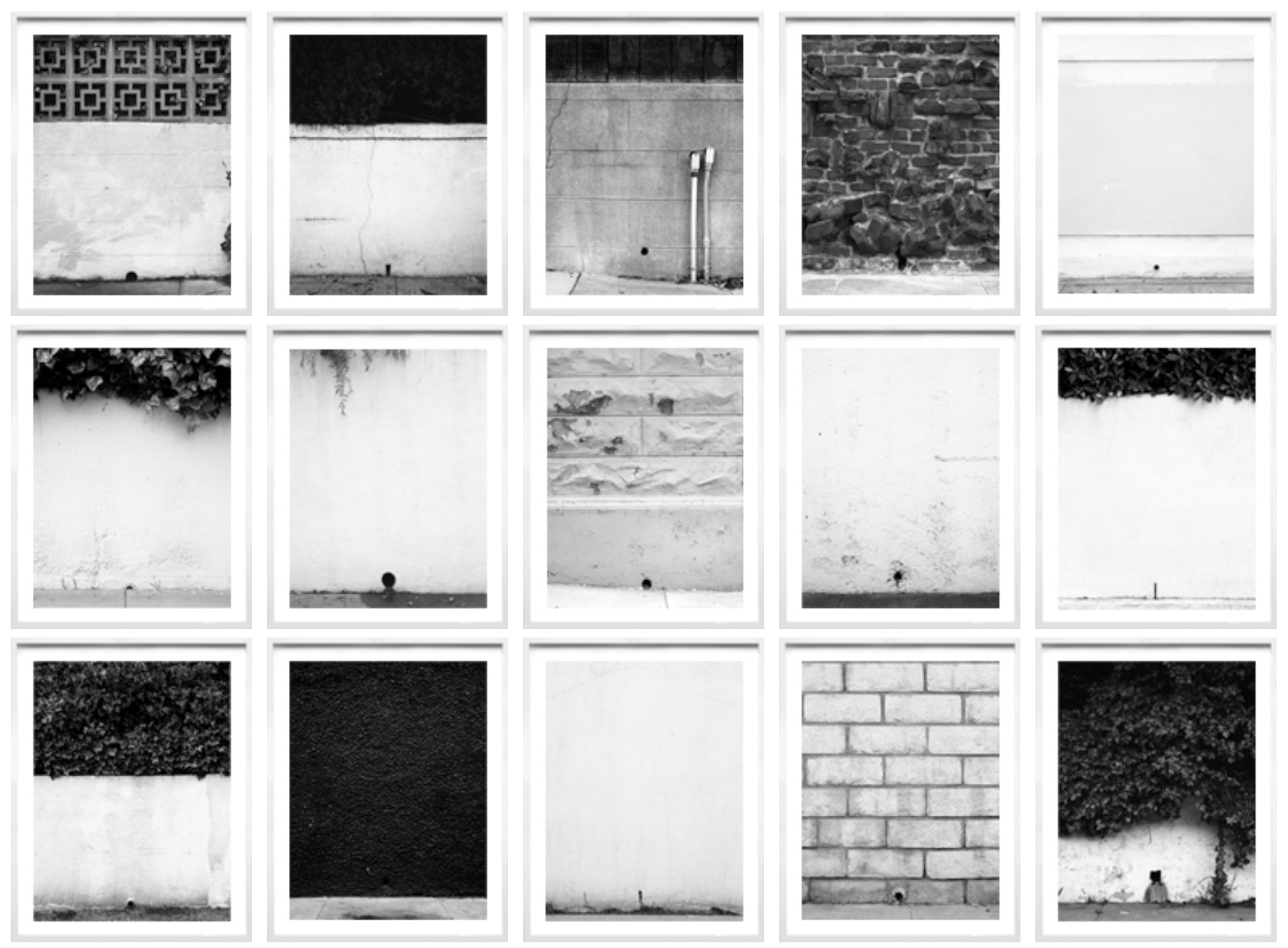 Series of 15,framed, one size, 2005-2008