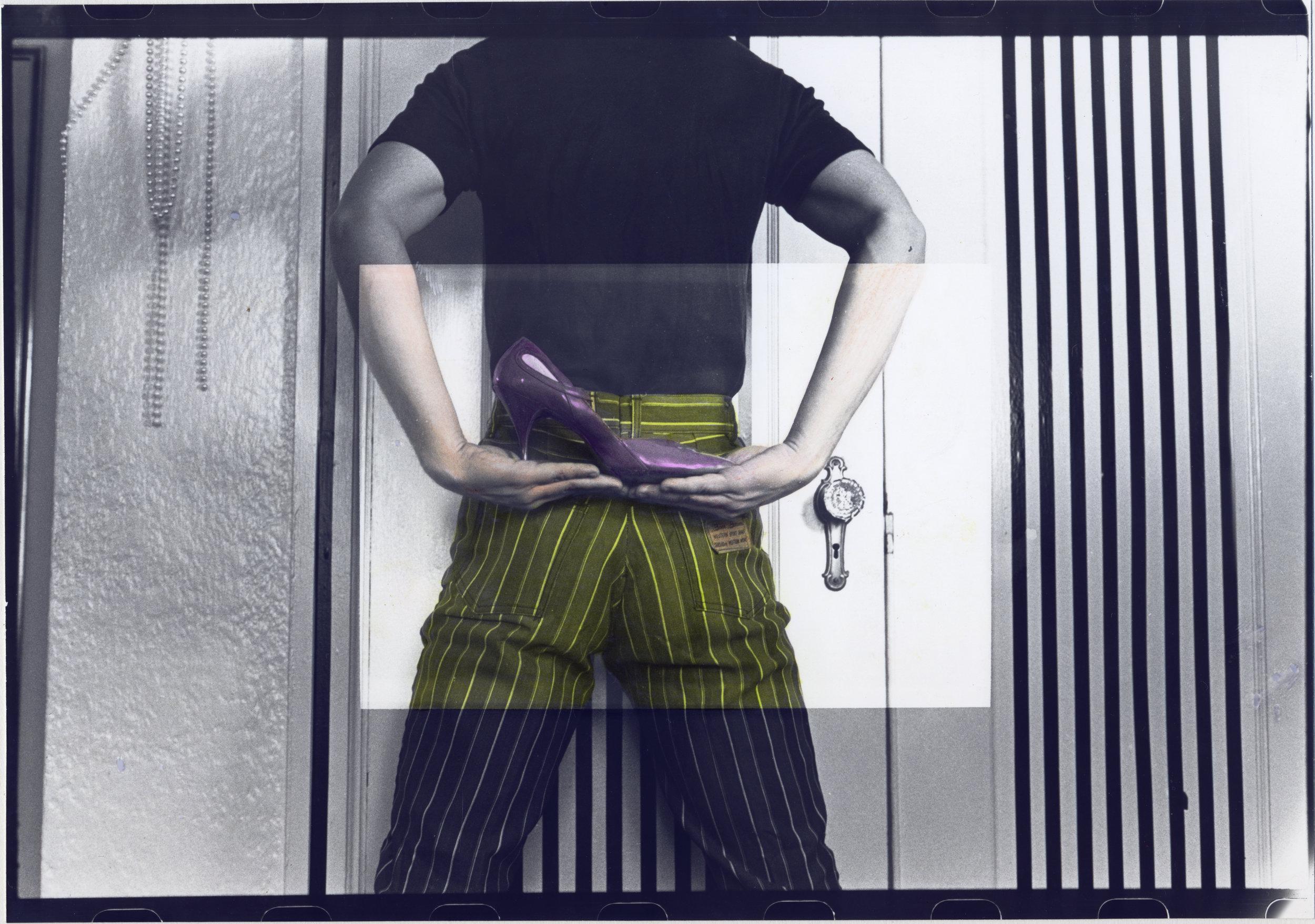 Stripes/Shoe Back