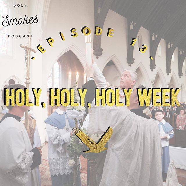 Holy has begun and Easter draws near. Join us as we talk about The Easter Vigil liturgy. #catholic #christian #catholicmedia #blueyeti #newevangelization #evangelization #reginacigar #podcast #catholicpodcast #holysmokespodcast #catholicconnect #tlm #extraordinaryform #traditionallatinmass #icksp #liturgy #mass