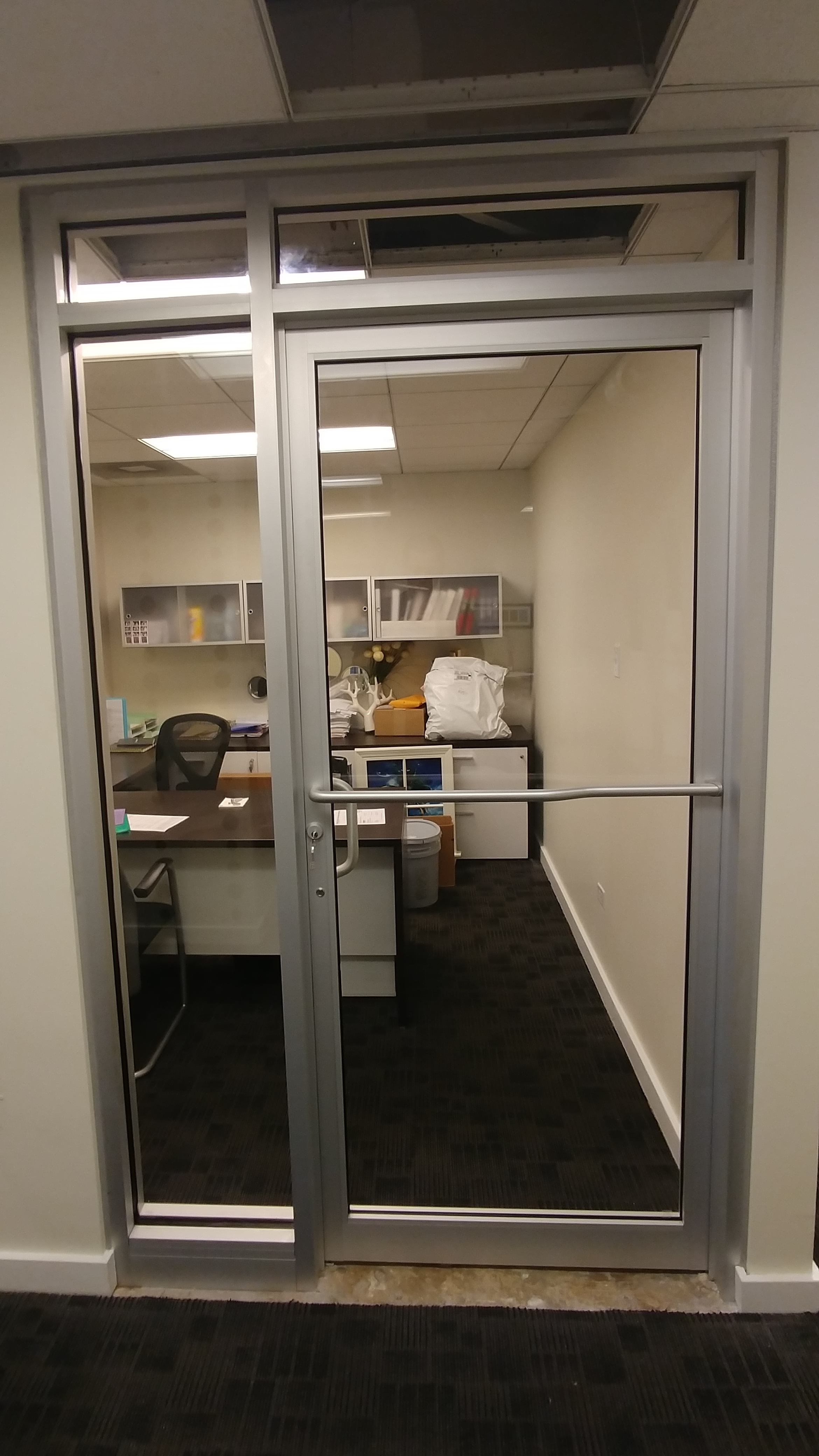 Commercial Interior Glass Doors Professional Installation