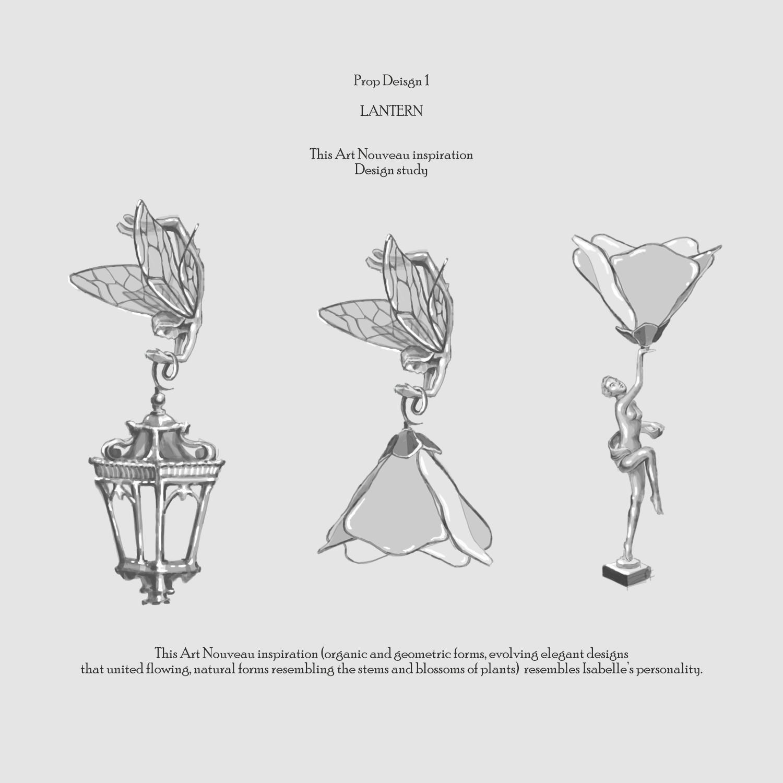 Prop Design 1 - Lantern