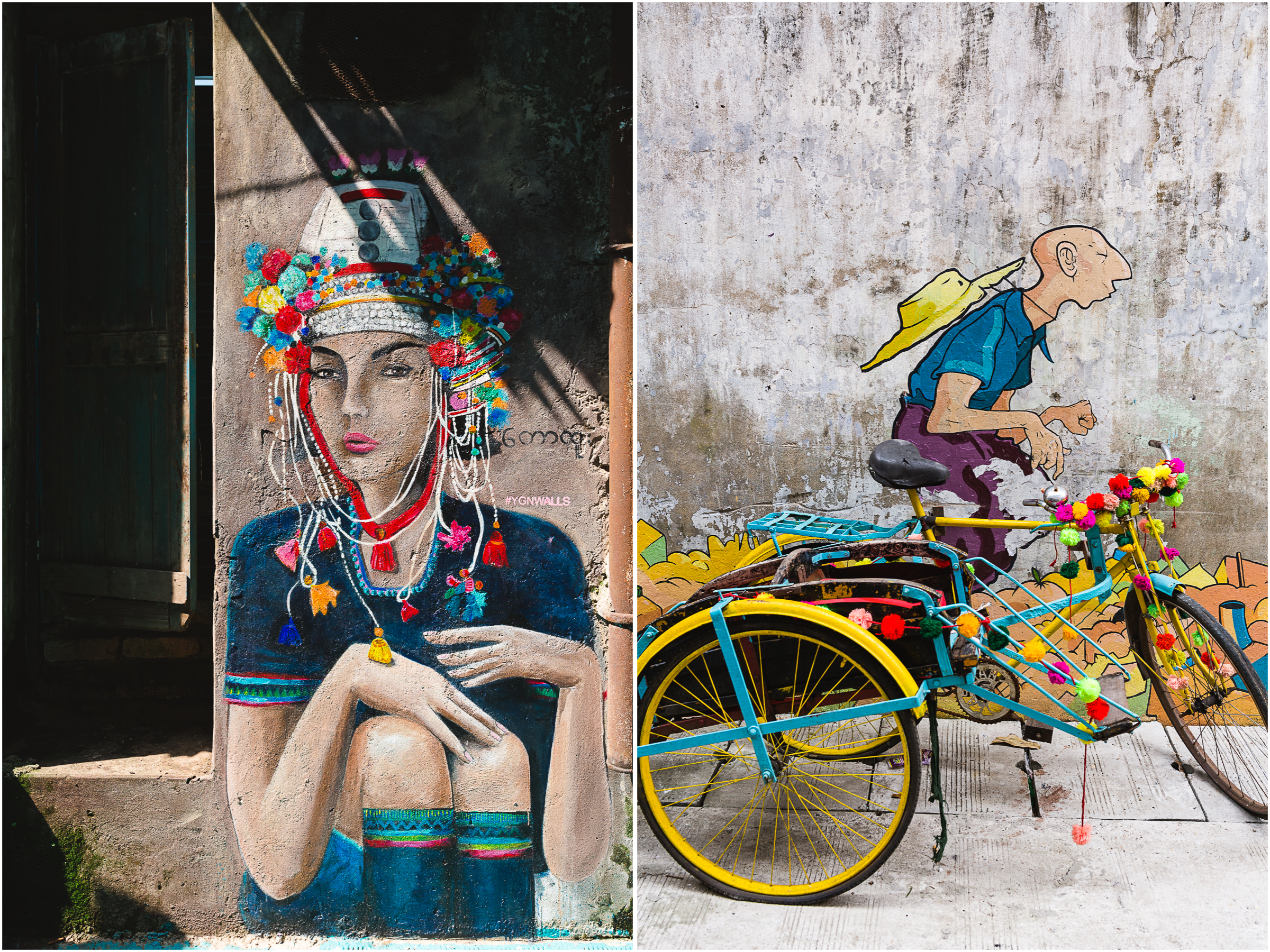 Not a typical day in my life, but  Yangon  has some interesting sites to see - when I can sneak away from work!