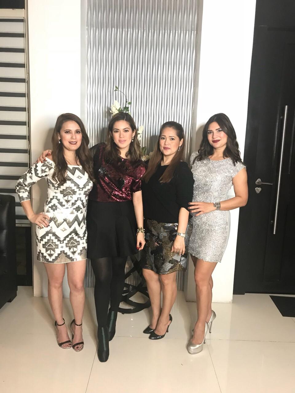 The women behind Ystilo salon – Sheryl, Shaina, Sheila Magdayo, and Vina Morales
