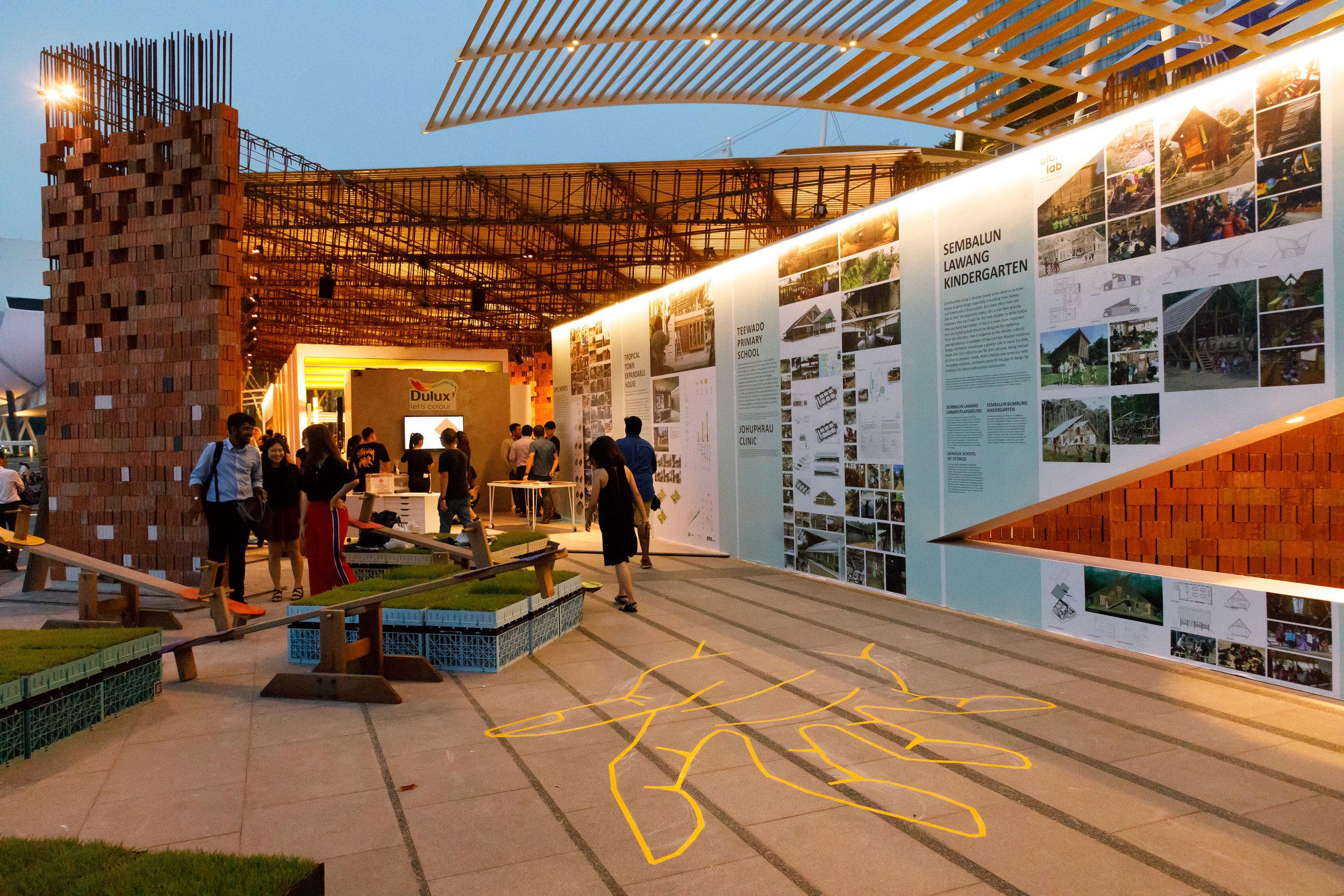 The Festival pavilion
