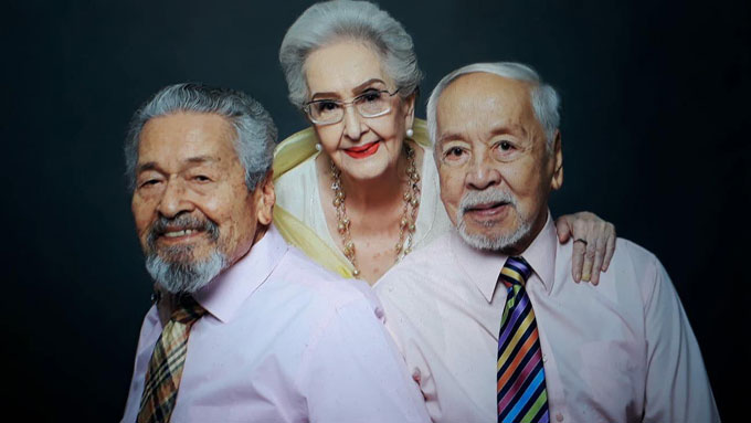 Gloria Romero stars with Eddie Garcia and Tony Mabesa in the Joel Lamangan directed Rainbow's Sunset