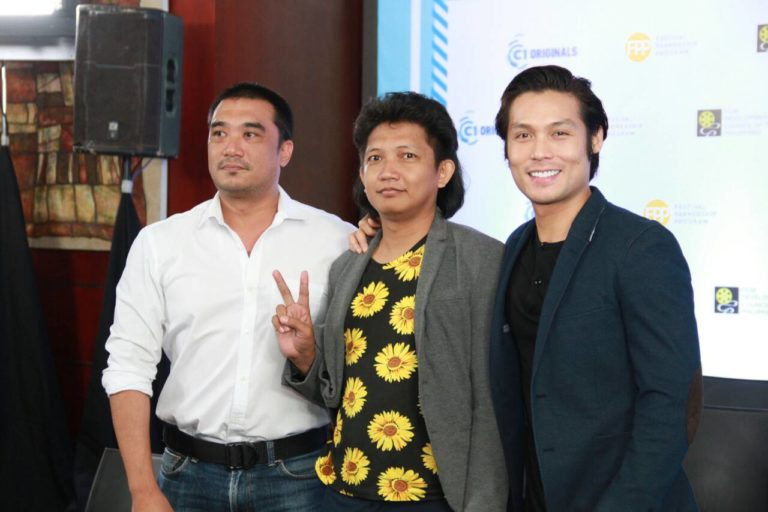"""Victor Neri, director Keith Deligero, and Jay Gonzaga of """"A Short History of A Few Bad Things"""""""