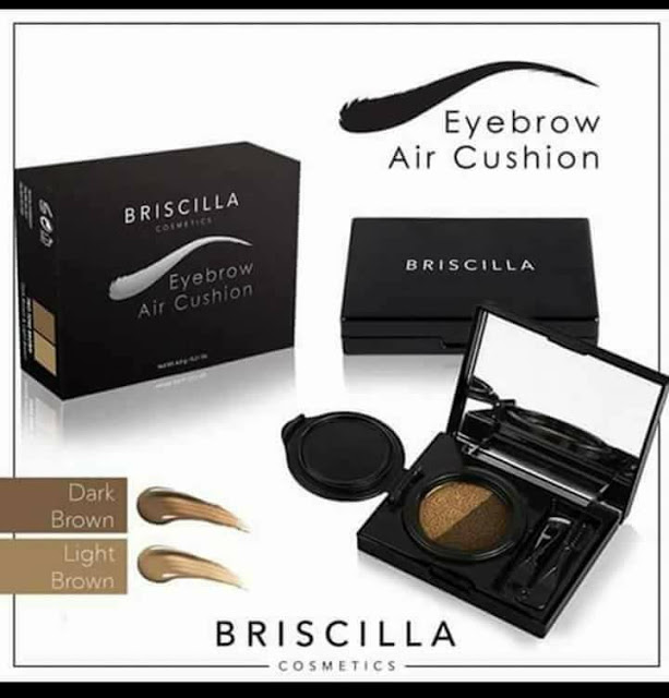 Briscilla's eyebrow air cushion