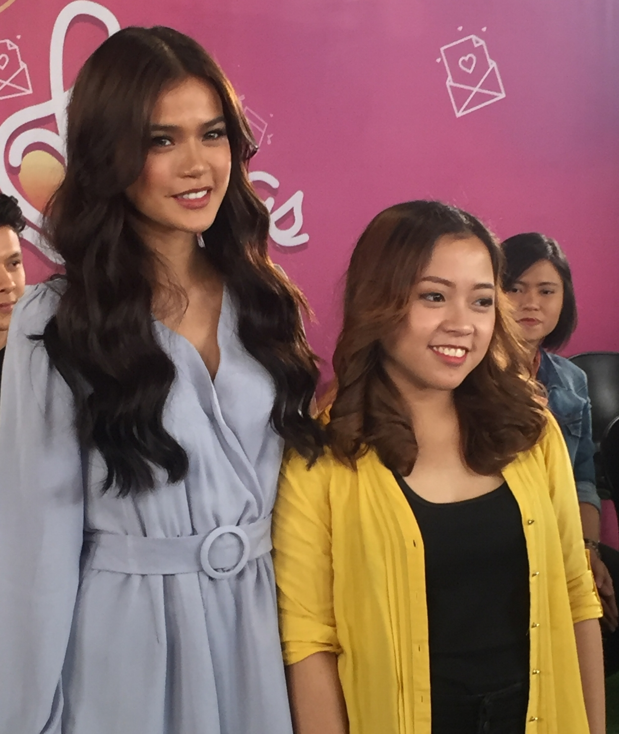 Maris Racal and songrwriter Jan Sabili of Sugarol