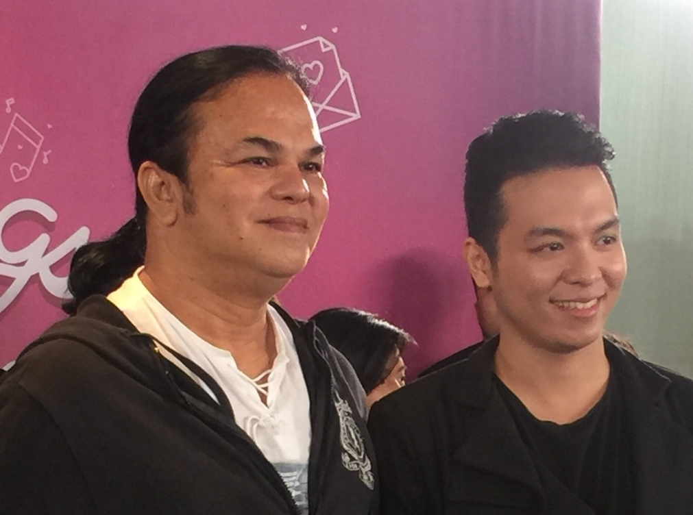 Songwriter Mel Magno and Sam Mangubat for Wala Kang Alam