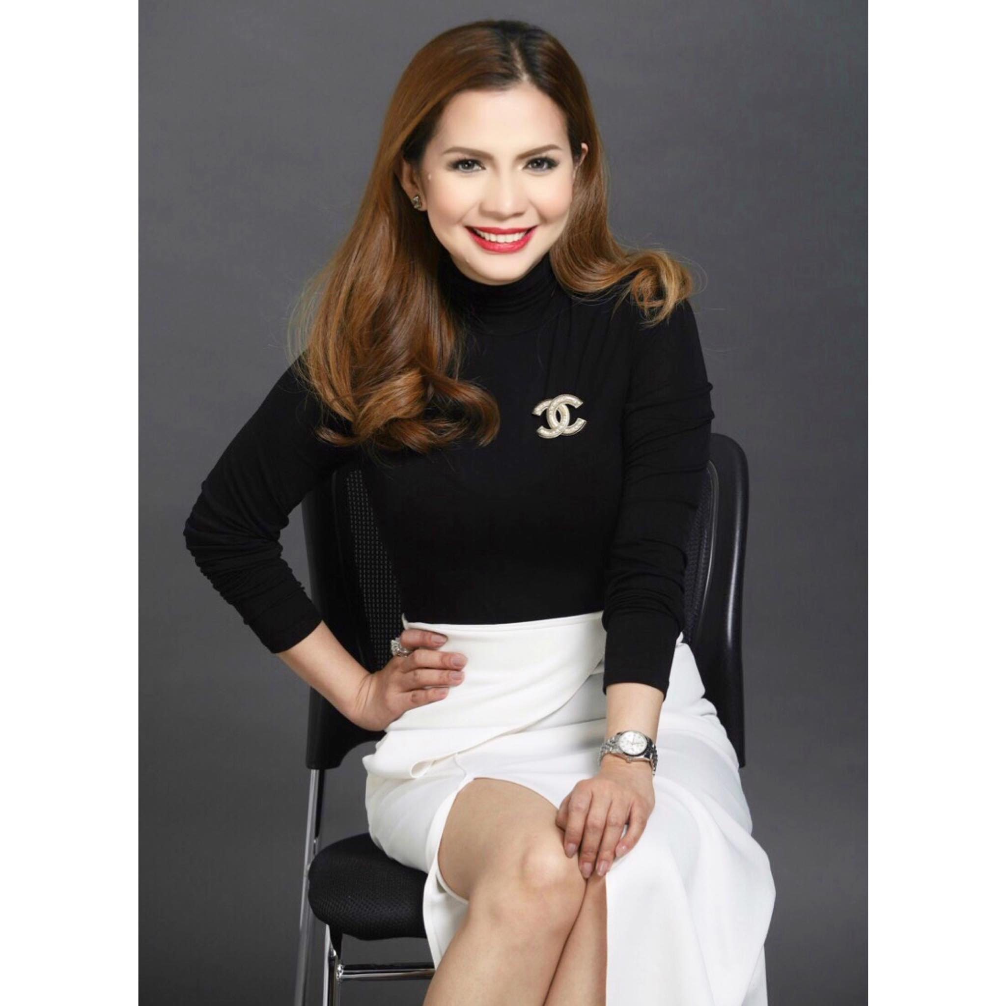 Rhea Anicoche-Tan, president and CEO of BeauteDérm