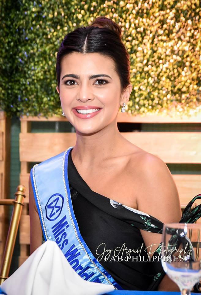 Miss World Philippines Katarina Rodriguez                                    Photo: Joy Arguil