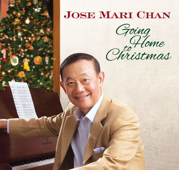 Jose Mari Chan is the star of a new album, Going Home To Christmas, and a concert of the same title at The Theatre at Solaire