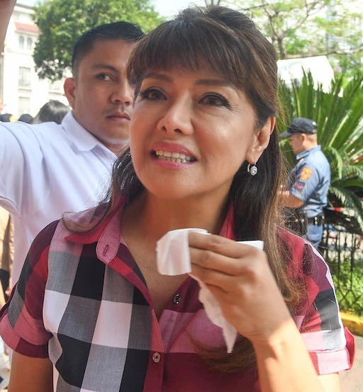 Imee Marcos, governor of Ilocos Norte, is running for the Senate in the 2019 elections